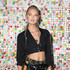 Romee Strijd Lookbook: Romee Strijd wearing Crop Top (2 of 5). Romee Strijd showed off her tiny waist in a black crop-top during #REVOLVEfestival.