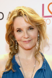 Lea Thompson worked a fairytale braid at the Race to Erase MS Gala.