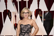 Rachael Harris Strapless Dress