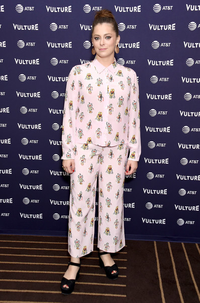 Rachel Bloom Print Pants []