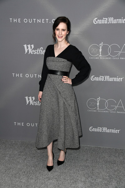 Rachel Brosnahan Midi Dress