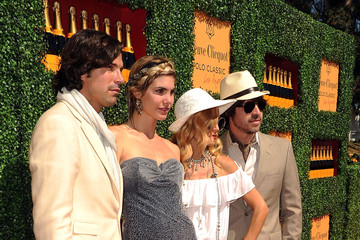 Rachel Zoe Nacho Figueras Veuve Clicquot Polo Classic Los Angeles - Red Carpet