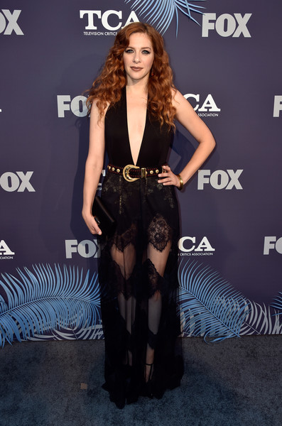 Rachelle Lefevre Sheer Dress