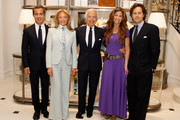 (L-R) Andrew Lauren, Ricky Lauren, Ralph Lauren, Dylan Lauren and David Lauren attend the Ralph Lauren celebration for the publication of