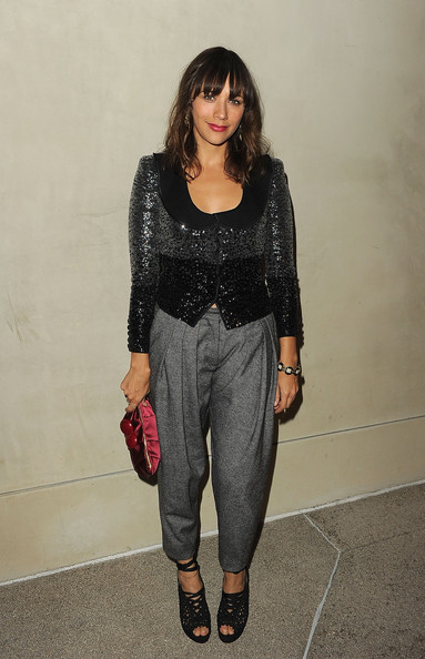 Rashida Jones Satin Clutch
