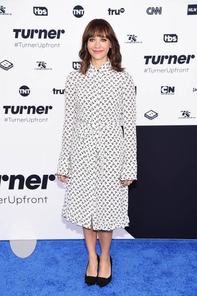 Rashida Jones Shirtdress