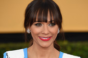 Rashida Jones Loose Ponytail