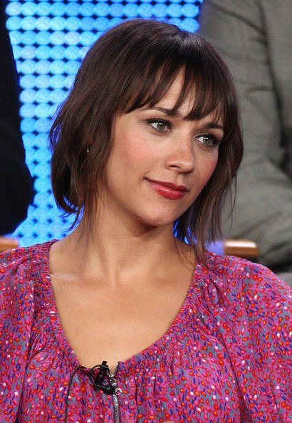 Rashida Jones Short Straight CutRashida Jones Hair Parks And Recreation