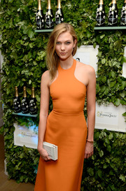 Karlie Kloss accessorized with an elegant Tiffany & Co. wire bracelet during the Raspoutine Paris Pop-Up event.
