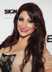 Deena Nicole Cortese stepped out for The Reality of FASHION The Reality of AIDS event in lusciously long curls.
