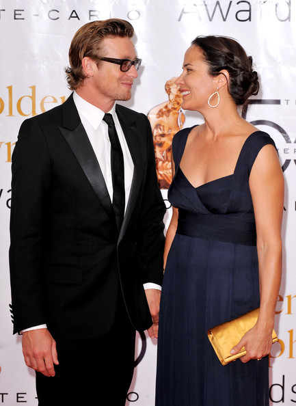 Simon Baker And Wife Rebecca Pictures to pin on Pinterest