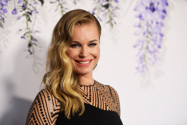 Rebecca Romijn Side Sweep [hair,face,blond,beauty,hairstyle,smile,purple,fashion,lip,shoulder,arrivals,rebecca romijn,summer tca,private residence,beverly hills,california,hallmark channel]