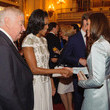 Kate Meets Michelle Obama