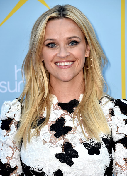 Reese Witherspoon Gold Hoops