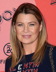 Ellen Pompeo sported a stylish layered 'do at the 29Rooms Los Angeles 2018.