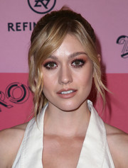 Katherine McNamara showed off an elegant ponytail at the 29Rooms Los Angeles 2018.