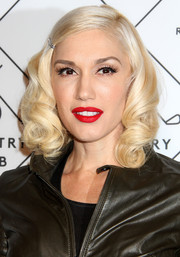 Gwen Stefani attended the Refinery29 Country Club launch wearing her hair in oh-so-sweet curls.