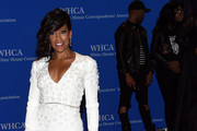 Regina King Fishtail Dress
