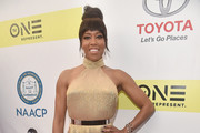 Regina King Halter Dress