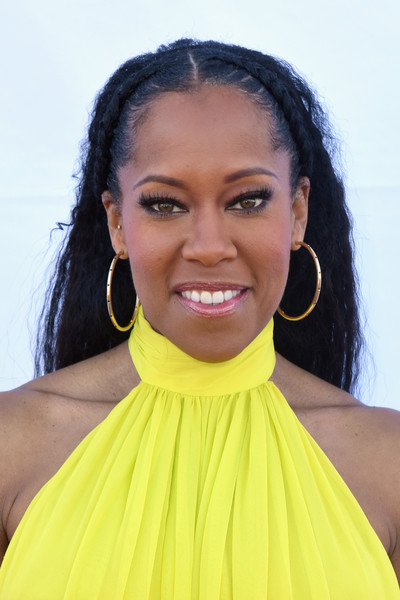 Regina King Gold Hoops