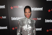 Regina King Silk Pants
