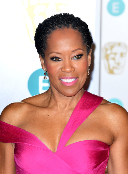 Regina King Braided Updo