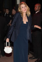 Laura Dern just threw a navy blazer over her Met Gala gown and she was all set for the after-party!