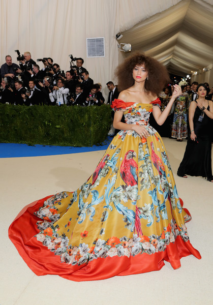 Zendaya Coleman in Dolce & Gabbana at the Met Gala