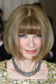 Anna Wintour attended the 2017 Met Gala wearing her famous bob, which is probably the most enduring hairstyle in the fashion world!