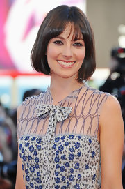 Daniela showcased the perfect bob at the Venice Film Festival.