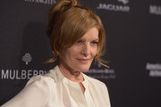 Rene Russo Loose Ponytail