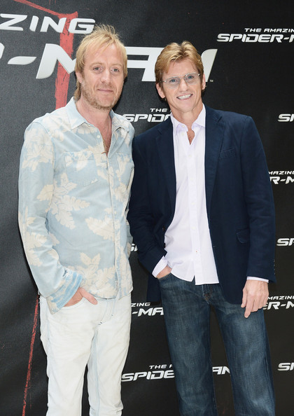 Rhys Ifans Button Down Shirt