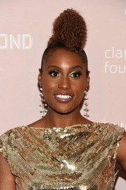 Issa Rae went majorly funky with this sky-high pompadour at the Diamond Ball.