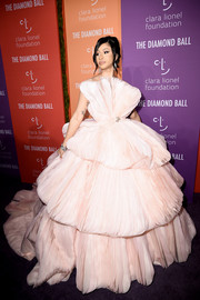 Cardi B was a fairytale princess in a voluminous pink gown by Georges Hobeika Couture at the 2019 Diamond Ball.