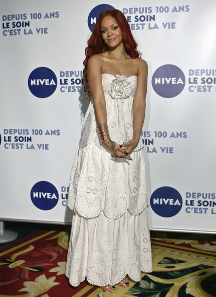 Rihanna Evening Dress