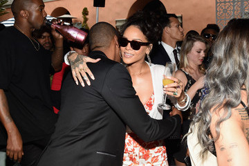 Rihanna Jay-Z Roc Nation and Three Six Zero  Pre-GRAMMY Brunch 2015 - Inside