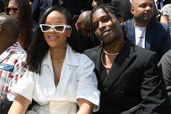 Rihanna Rectangular Sunglasses
