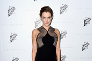 Riley Keough Form-Fitting Dress