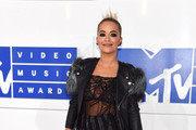 Rita Ora Leather Jacket