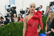Rita Ora One Shoulder Dress