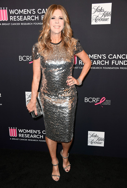 Rita Wilson Sequined Clutch