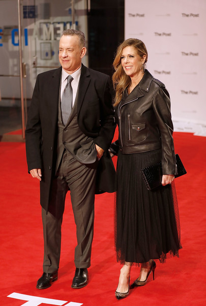 Rita Wilson Leather Jacket