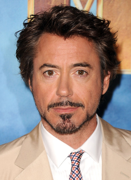 Robert Downey Jr. Messy Cut