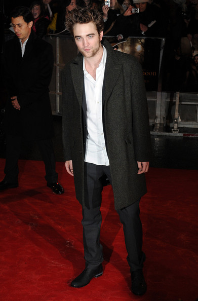Robert Pattinson Wool Coat