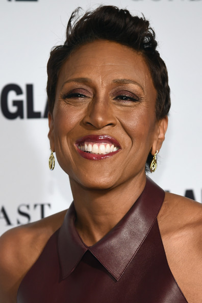 Robin Roberts Fauxhawk [cindi leive honors the 2014 women of the year - arrivals,hair,face,hairstyle,facial expression,eyebrow,chin,skin,forehead,lip,smile,robin roberts,glamour 2014 women of the year awards,new york city,carnegie hall,glamour]