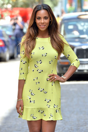 Rochelle Humes of 'The Saturdays' launches her collection for Very.co.uk.