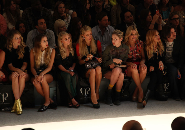 Charlotte Ronson - Front Row - Spring 2013 Mercedes-Benz Fashion Week