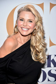 Christie Brinkley's curls looked totally shampoo ad-worthy!