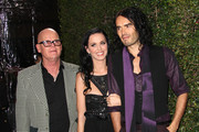 (L-R)  Keith Hudson (Katy Perry's father), recording artist Katy Perry and Russell Brand attend the Rolling Stone 2010 American Music Awards VIP after party on November 21, 2010 in Los Angeles, California.