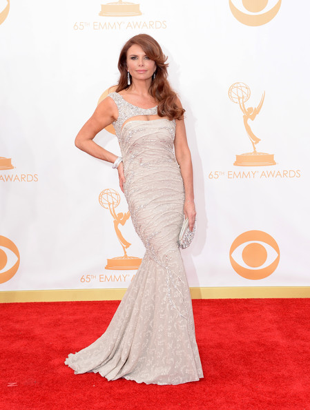 Roma Downey Beaded Dress